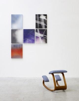 Furniture Art (Helsinki, Copenhagen, Bar Harbor, Damascus, Los Angeles (2)) and Untitled