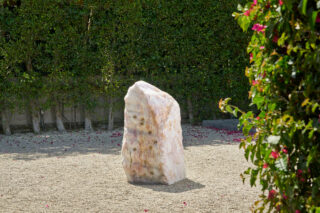 Pranayama (Monolith, F, Rose Quartz), 2021
